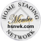 Home Staging Network Membership Seal