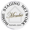 Home Staging Network Membership badge logo