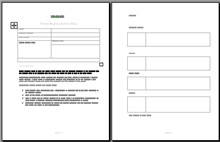 Small Business  Action plan template  image