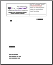 Home Staging letter head template image