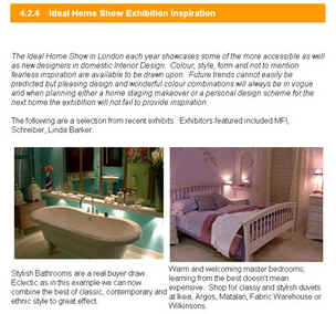 Home Staging Business ebook section Show Homes - start of page
