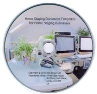 Document Templates For Home Staging Businesses on CD ROM