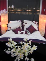 The Ideal Home Show bedroom section