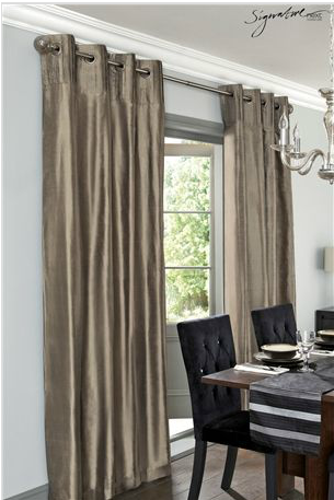 Dressing Up Your Windows with Next Signature Pure Silk Pleated