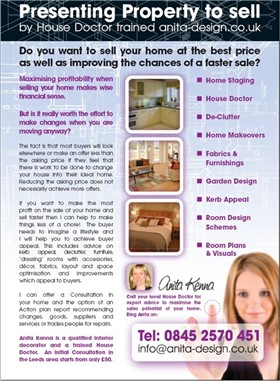 Home staging marketing guide home staging flyers for Capital home staging and design