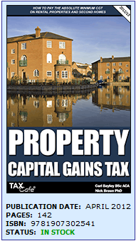 2012/2013 Capital Gains Tax (CGT) Book