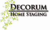 Decorum Home Staging Logo