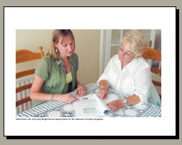 Home Staging Business Consultation with customer