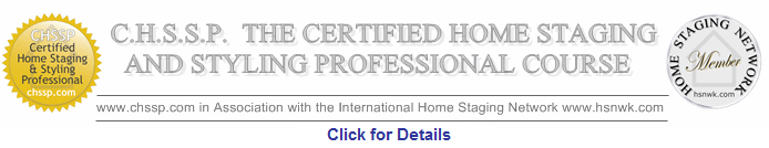 Interior Design Course - CHSSP Home Staging Professionals