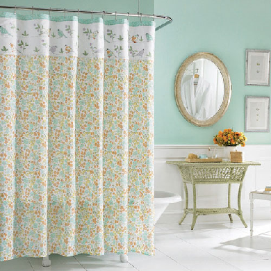 Laura Ashley Shower Curtains | Shower Curtains by Laura Ashley